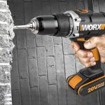 Worx WX372 - Taladro percutor compacto